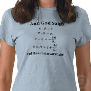 and_god_said_maxwells_equations_shirt